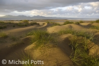 Newborough Dunes looking to the Lleyn